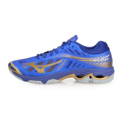 MIZUNO 男 排球鞋 WAVE LIGHTNING Z4 藍金
