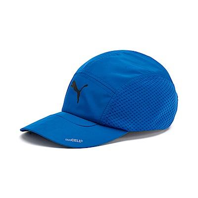 PUMA-男女慢跑系列棒球帽-艷寶藍