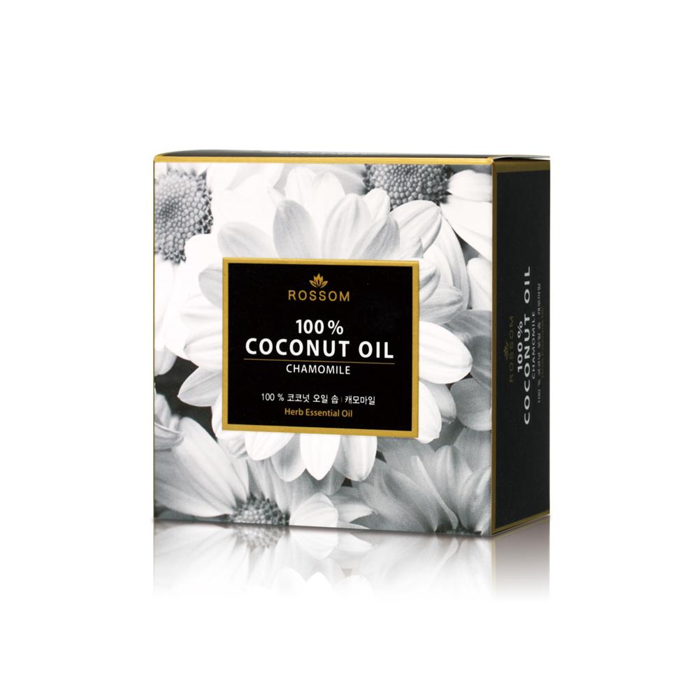韓國ROSSOM-100%椰子油洋甘菊保濕鎮靜美顏皂100g