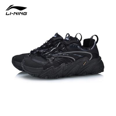 LI-NING 李寧 X-Claw貓爪 時尚潮流休閒鞋 男 標黑冷檀黑(AGLQ013-4)