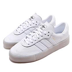 adidas 休閒鞋 Sambarose 厚底 穿搭 女鞋