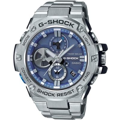 G-SHOCK  G-STEEL智慧藍牙連線運動錶(GST-B100D-2A)