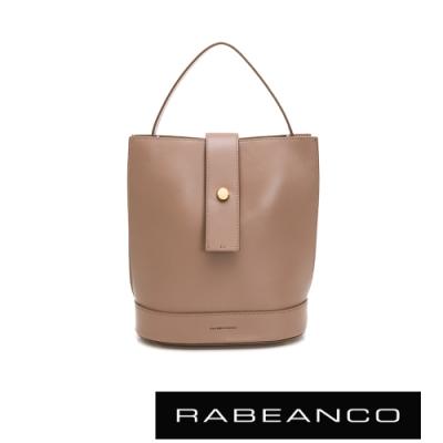 RABEANCO ARIA手提/肩背水桶包 深杏