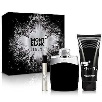 MONTBLANC萬寶龍 傳奇經典男性淡香水禮盒-送品牌針管+紙袋