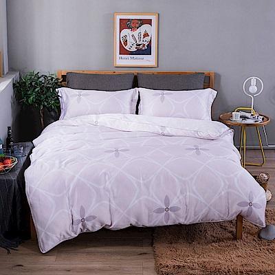 夢工場 寧靜致遠40支紗天絲兩用被床包組-雙人