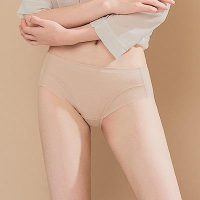 無痕透氣超健康吸濕排汗包臀中腰M-XL內褲 巴黎米紗 可蘭霓Clany
