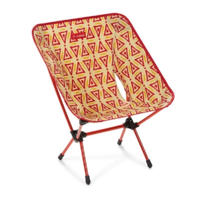 Helinox Chair One 超輕量露營椅 三角圖騰-紅 Triangle Red