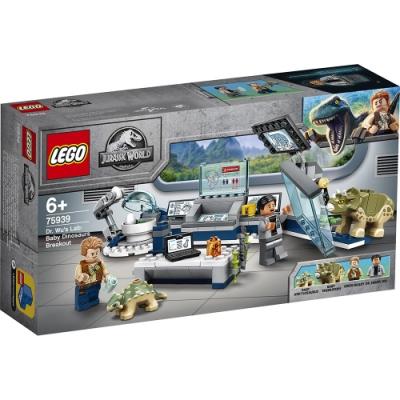樂高LEGO 侏儸紀世界系列 - LT75939 Dr. Wu s Lab: Baby Dinosaurs Breakout