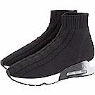 ASH Living 麻花彈性針織襪套運動鞋(女款/40號)