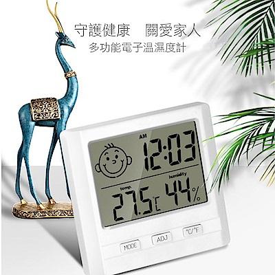 COMET 溫控表情立/掛式電子溫濕度計(TM-05)