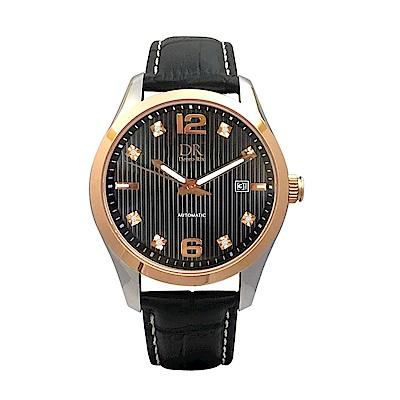 Depro Rix 紳士典藏真鑽機械腕錶DR02097B-43mm