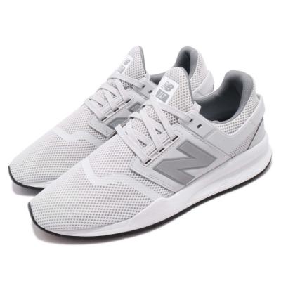 New Balance 休閒鞋 247FE D 復古 男鞋 紐巴倫 運動 襪套 N字鞋 球鞋 穿搭 灰 白 MS247FED