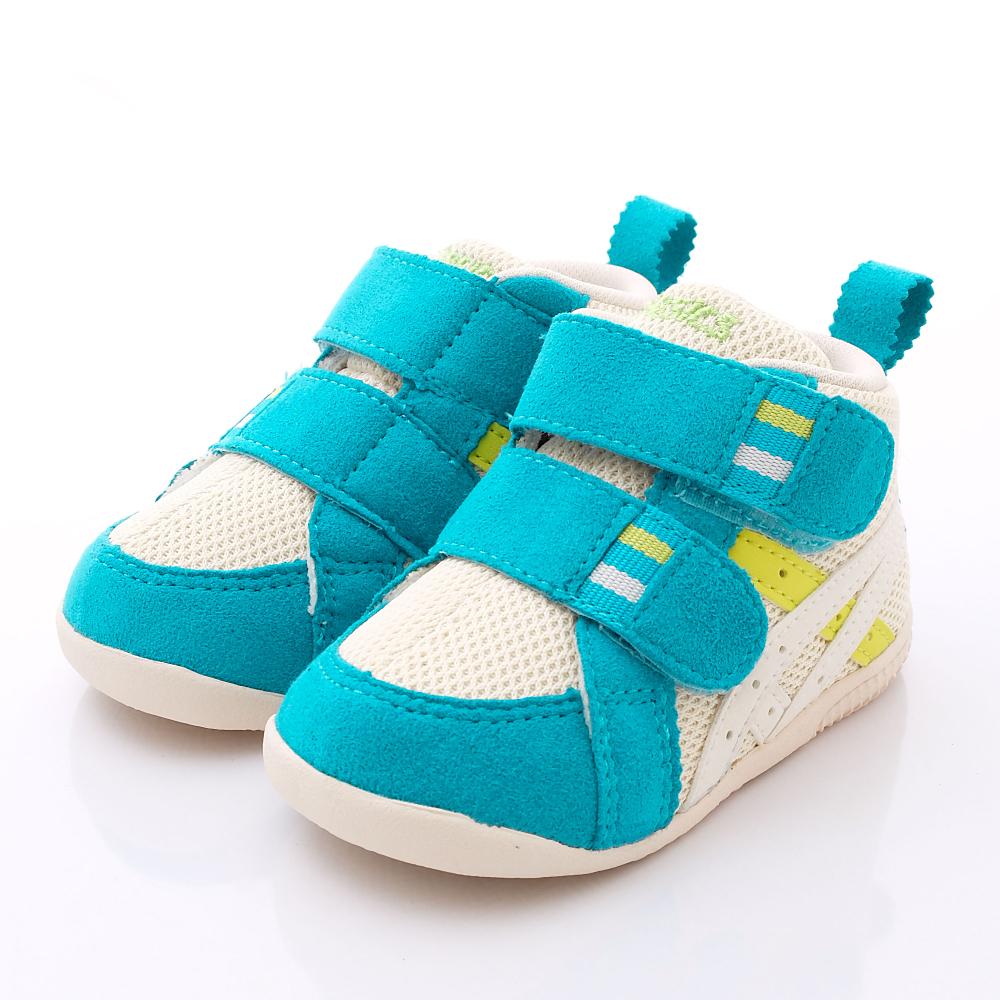 零碼-12cm asics競速童鞋 suku護踝鞋款 ON10-0367藍