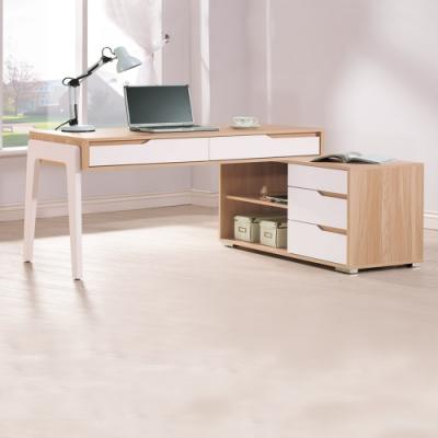 Boden-德雷莎4.1尺多功能L型伸縮書桌/工作桌/辦公桌