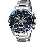 SEIKO 精工 三眼競速計時腕錶(SSB321P1)