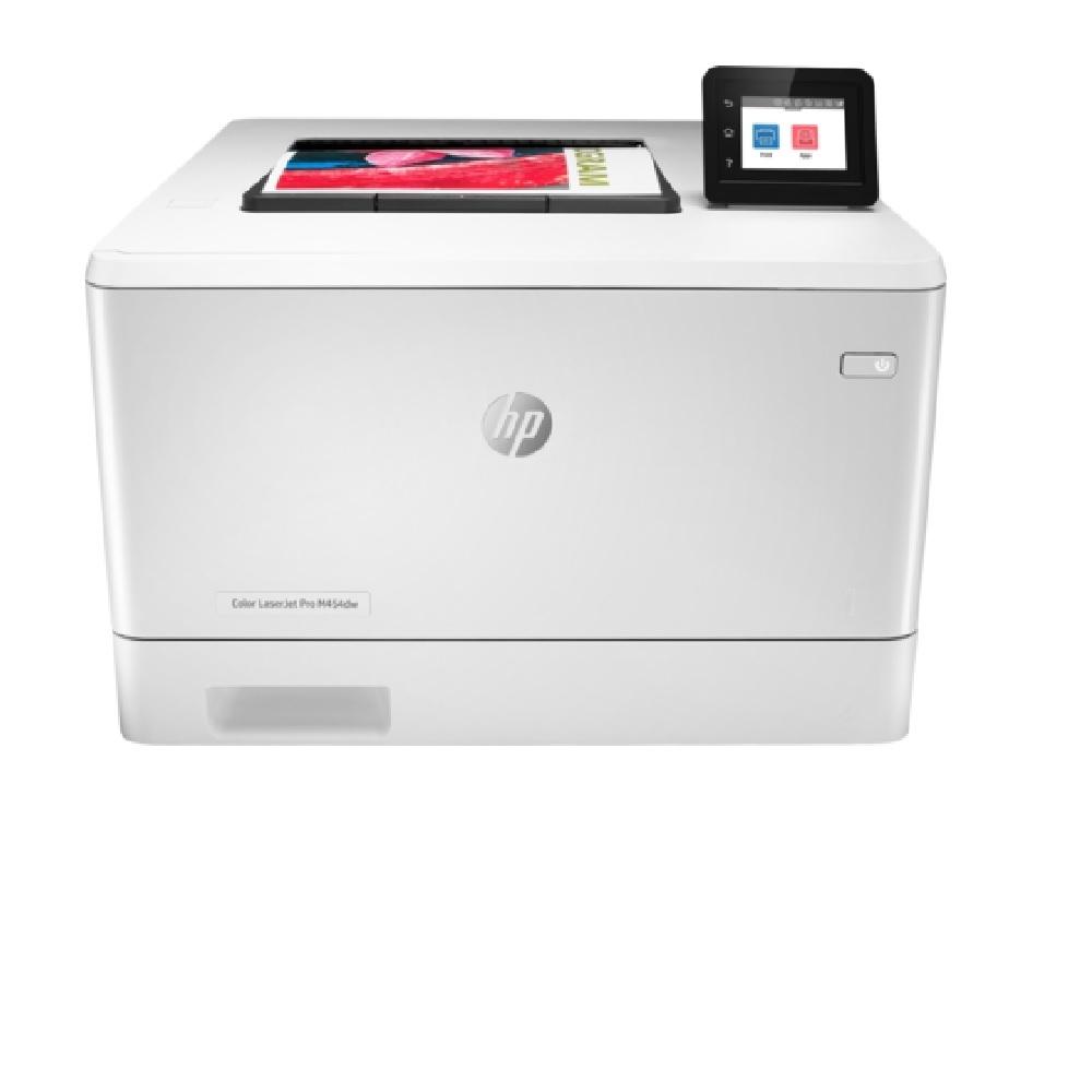 HP LaserJet Pro M454dw 彩色無線 WiFi 自動雙面觸控螢幕雷射印表機
