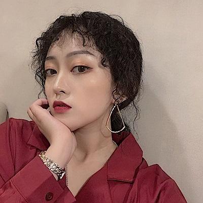 梨花HaNA 無耳洞/耳針款韓國水鑽水滴玩美造型耳環
