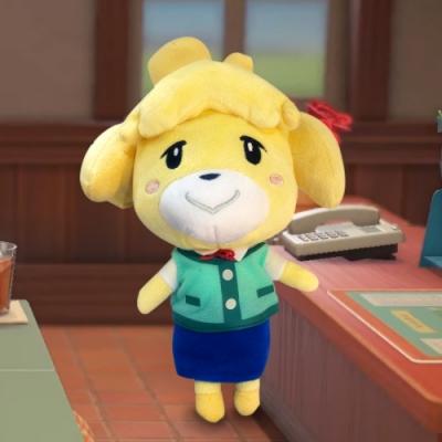任天堂原廠授權角色娃娃- 動物森友會系列 大型玩偶 娃娃 三選一(送動森購物袋+動森束口袋)