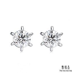 如一系列 18K金鑽石耳環