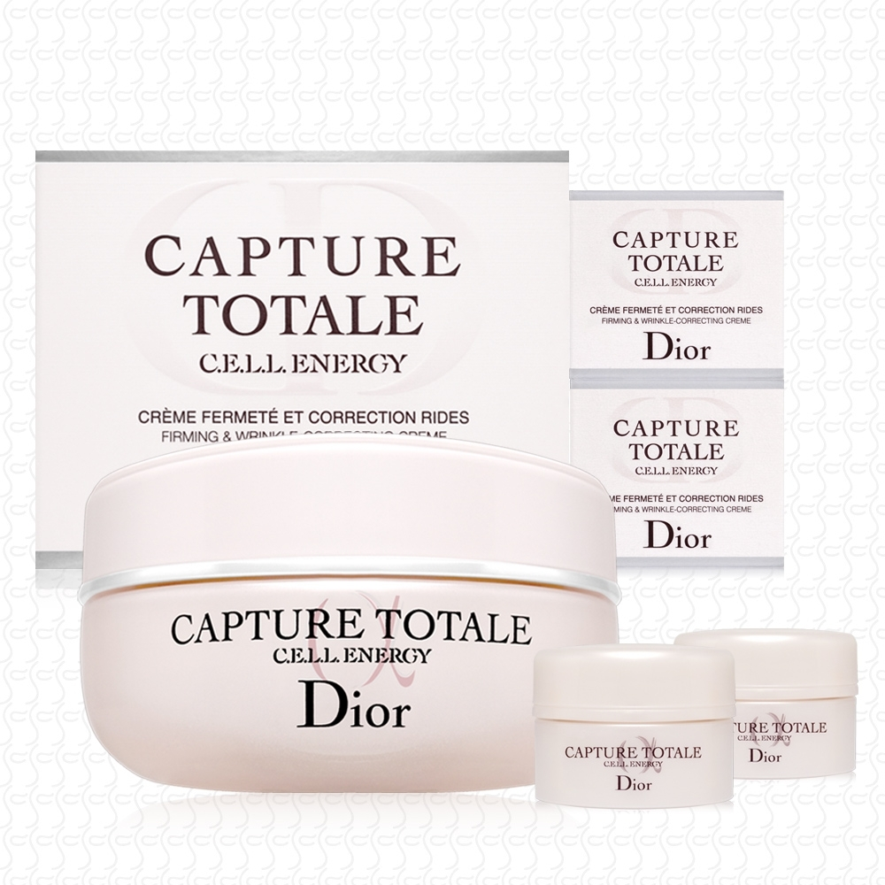 Dior迪奧 逆時能量奇肌霜50ml+5mlx2 超人氣好評推薦