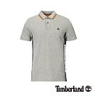 Timberland 男款中麻灰色短袖POLO衫|A1YHX
