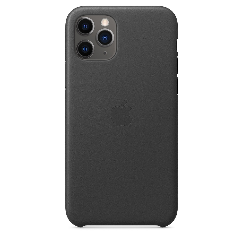 Apple 原廠 iPhone 11 Pro Max皮革保護殼