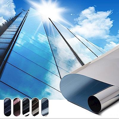 【Incare】抗UV隔熱防爆玻璃窗戶貼210*90CM(1入/4色可選)