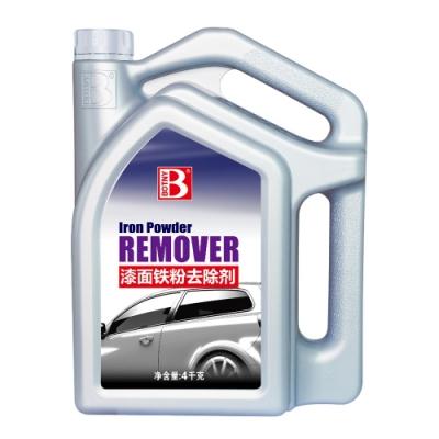 【BOTNY汽車美容】漆面鐵粉去除劑4L 大容量 美容業洗車場指定