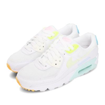 Nike 休閒鞋 Air Max 90 運動 女鞋 經典款 氣墊 避震 球鞋 穿搭 白 黃 CZ0366100
