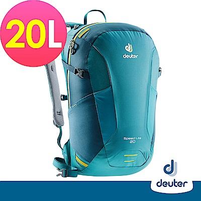 【德國DEUTER】SPEED LITE超輕量旅遊背包20L(3410218綠/深綠)