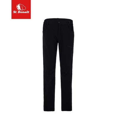 【St. Bonalt 聖伯納】單色涼爽機能彈力休閒褲|男款 7128