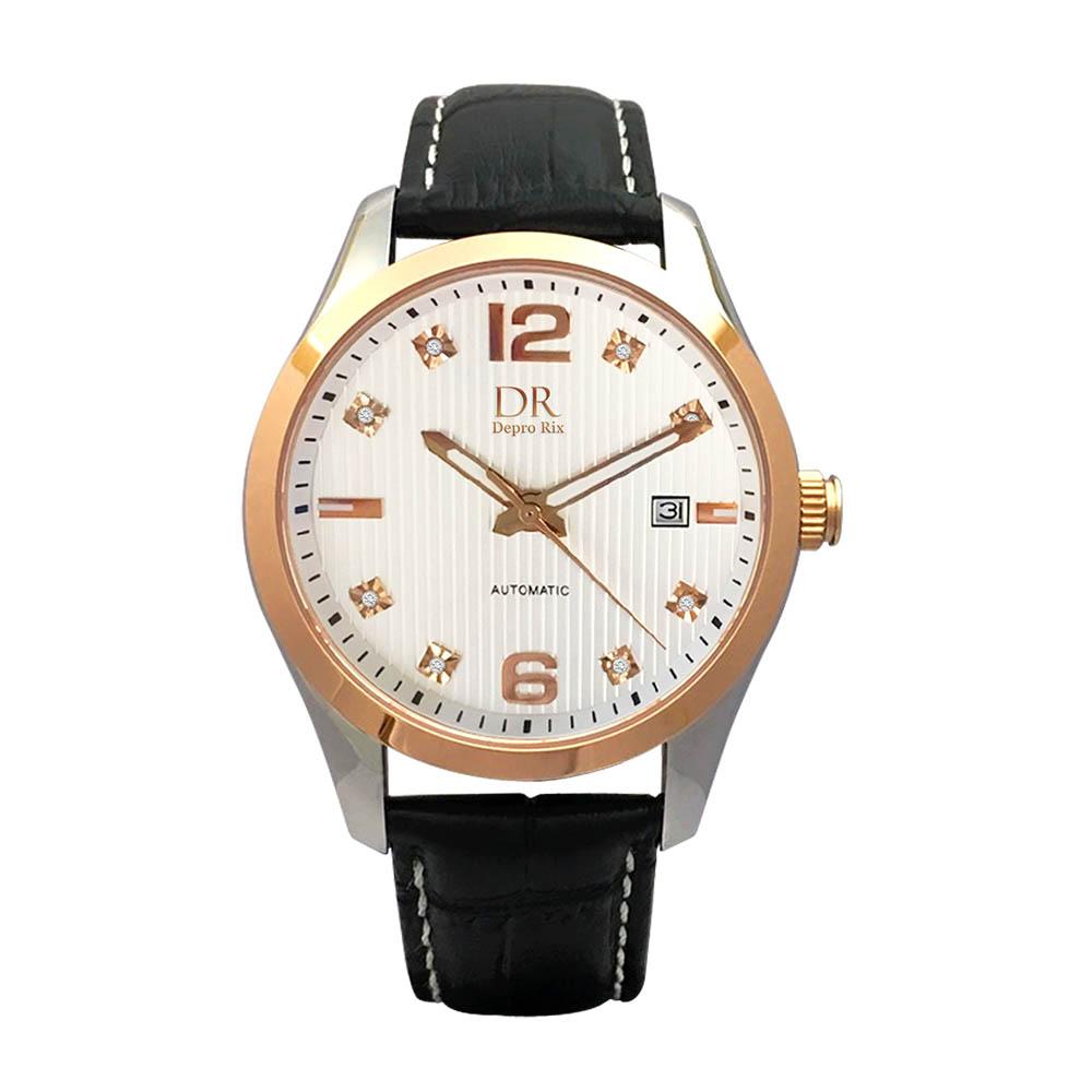 Depro Rix 紳士典藏真鑽機械腕錶DR02097W-43mm