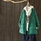 白鴨絨襯衫式輕薄羽絨服寬鬆外套-設計所在
