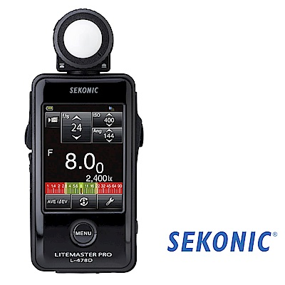 SEKONIC L-478D Speedmaster 觸控式測光表 (公司貨)