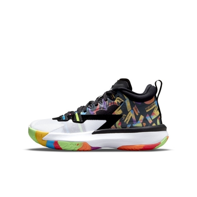 NIKE Jordan Zion 1 (GS)男女大童籃球鞋-黑-DA3131001