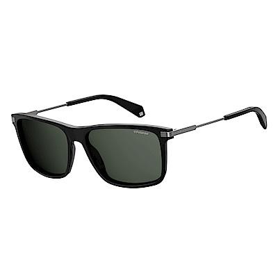Polaroid PLD 2063/F/S-俐落方框太陽眼鏡 黑色 @ Y!購物