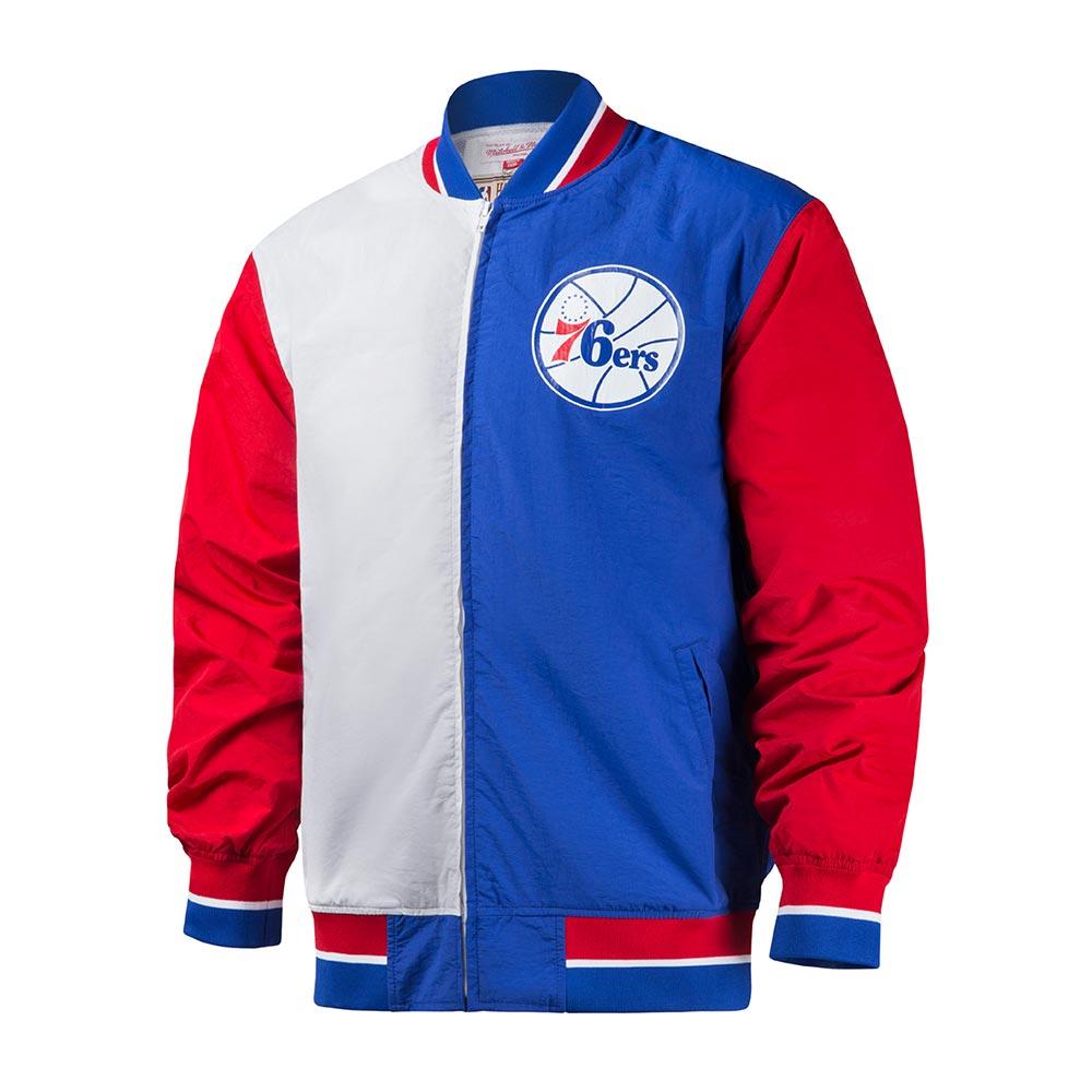 M&N NBA復古經典熱身外套 76人