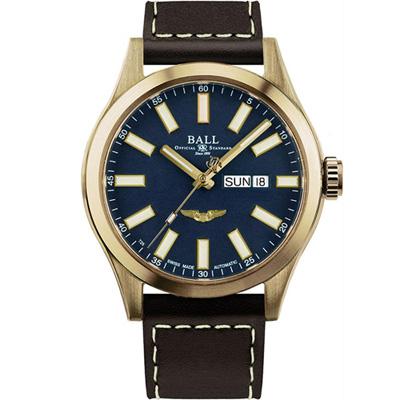 Ball Engineer 青銅星機械錶(NM2186C-L4J-BE)藍