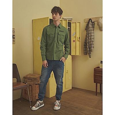 CACO-小直筒牛仔褲(二色)-男【A1AR017】