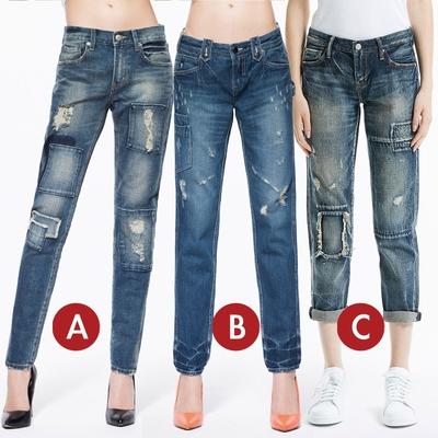 [時時樂限定]BRAPPERS 女款 男友褲(多款選)