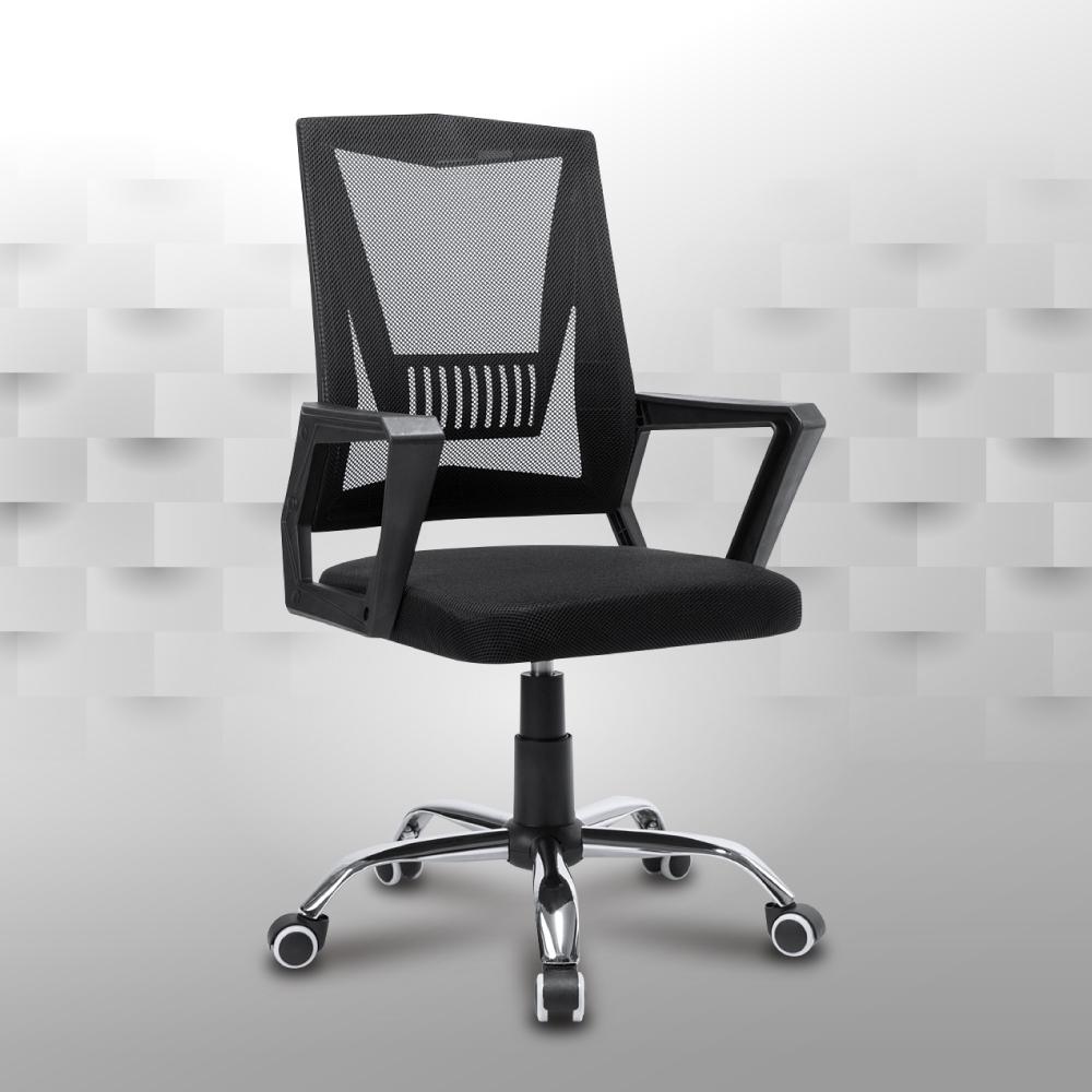 IDEA-新設計曲線透氣網布電腦椅-PU靜音滑輪 product image 1