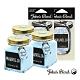 John's Blend 室內香氛擴香膏x3入+香氛掛片x2入組(白玉蘭花) product thumbnail 1