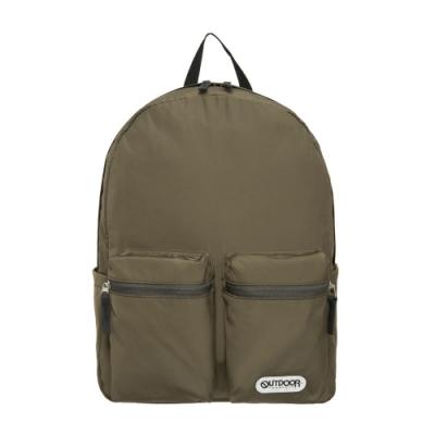 【OUTDOOR】慢活宣言-14吋筆電後背包-橄欖綠 OD201107OE