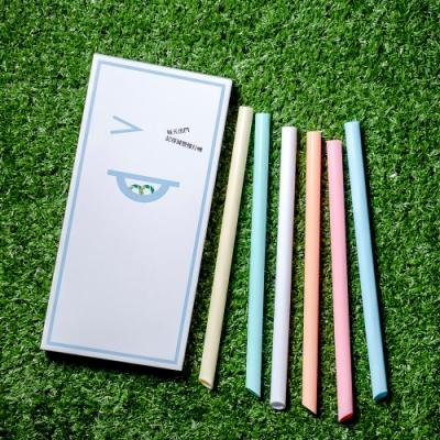 HYPASS 卡卡環保吸管GAGA STRAW 藍盒6入分享版