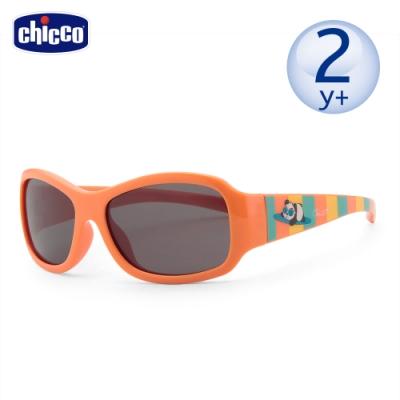 chicco-兒童專用太陽眼鏡-衝浪貓熊橘-24m+