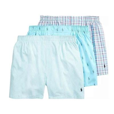 Polo Ralph Lauren Classic Fit Woven 棉質寬鬆四角褲 (三件組)