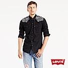 Levis 牛仔襯衫 男裝 豹紋刺繡 雙口袋 珍珠扣