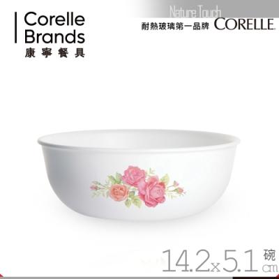 美國康寧 CORELLE 薔薇之戀473ml 韓式湯碗