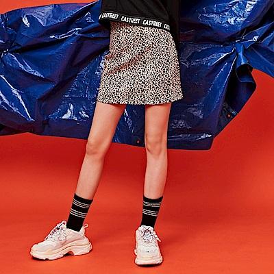 CACO-小豹紋褲裙-女【RST039】