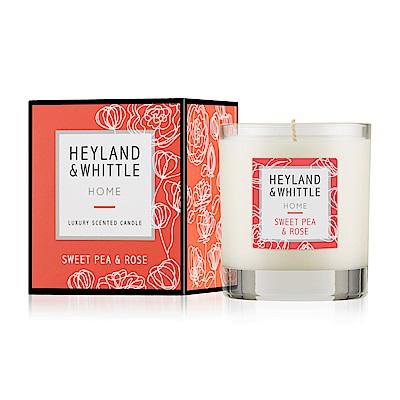 H&W英倫薇朵 玫瑰香豌豆香氛燭230g